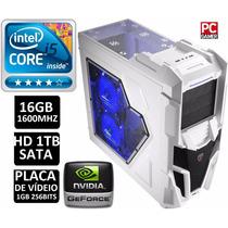 Cpu Pc Gamer / Core I5/ 16gb/ 1tb/wi-fi/ Video 1gb 256bits
