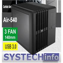 Gabinete Corsair Cube Air 540 Black Acrilico Usb 3.0 3 Fan