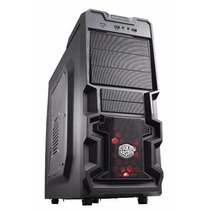 Gabinete Gamer Cooler Master Mid Tower K380 Preto 3 Baias