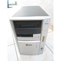 Gabinete Com Usb E Audio Frontal Leitora De Cd E Drive Diske