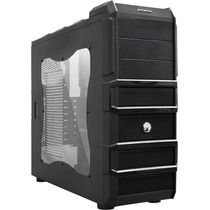 Gabinete Gamer Rhino Lateral Acrilico C/ Fan De 120mm Pcyes