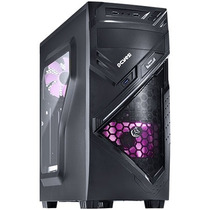 Gabinete Gamer Chacal Pcyes Mid Tower Rosa Lançamento