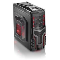 Gabinete Gamer Barato Com Led 3 Cooler Sem Fonte
