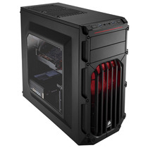 Gabinete Corsair Carbide Spec-03 Red Led Cc-9011052-ww