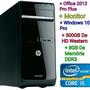 Pc Gamer Hp Pro, I5, 8gb, 500gb Hd E Monitor - Seminovo