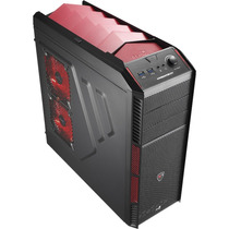 Gabinete Gamer Atx Xpredator X1 Devil Red En57066 Aerocool