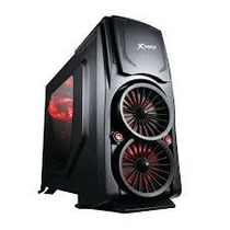 Gabinete Gamer X-trike Bi-turbo - 10 Baias / Hot Swap / Usb