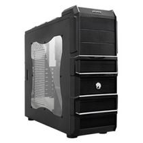 Gabinete Pcyes Gamer Rhino 2fan 120mm Preto 3 Baias S/ F ¿