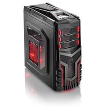 Gabinete Gamer 3 Cooler Com Led Multilaser - Ga124