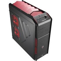 Gabinete Aerocool En57066 Gamer Atx Xpredator X1 Devil Red