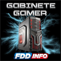 Gabinete Gamer Server Multilaser Warrior Metalwar Usb 3.0