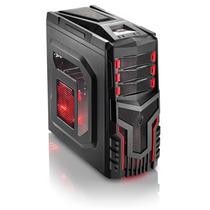 Gabinete Gamer Warrior 3 Cooler 12cm C/ Led Multilaser Ga124