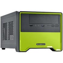 Gabinete Gamer Element 101bg Case - Cor Verde - C/ Fan Tras