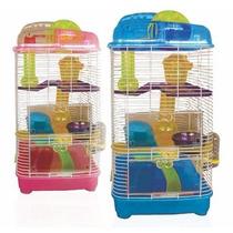 Gaiola Hamster Roedores Mansion 4 Andares Bbbpet Pet Shop