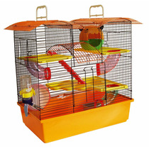 Gaiola Hamster 3 Andares Completa