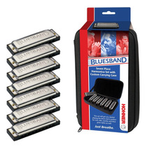 Hohner Blues Band 1501 Harmonica Set . Gaita De Boca . Loja