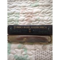 Gaita Tombo Band Harmônica 28 Japonesa Envio Já