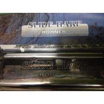 Gaita Slide Harp Hohner Made In Germany Em D