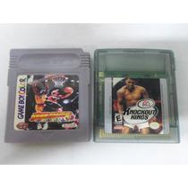 Lote 2 Fita De Video Game Do Nintendo Game Boy Color