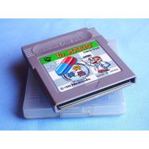 Dr. Mario - Game Boy Classic - C/case - Raro !!! Original