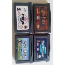 Lote Com 4 Jogos Para Game Boy Advance Todos Funcionando!