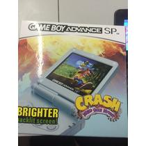 Game Boy Advance Sp Brighter Com +1000 Jogos Na Memoria