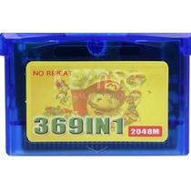 Cartucho Game Boy Advance 369 Jogos Em 1