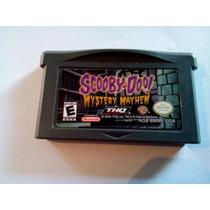 Scooby-doo! Mystery Mayhem Original Game Boy Advance Frete 7
