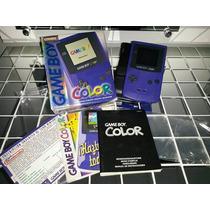 Game Boy Color Completo Com Todos Os Manuais