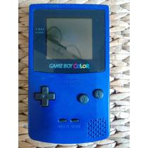 Game Boy Color Azul Funcionando - Leio O Anuncio!!