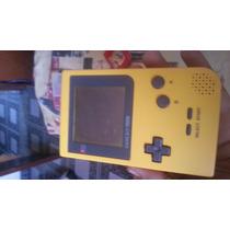 Game Boy Pocket Amarelo Não Liga Leia.