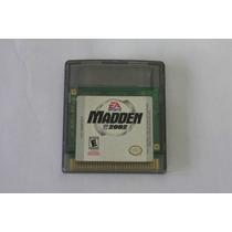 Madden 2002 Original Game Boy Color Gbc