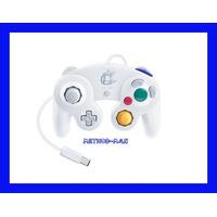 Controle Game Cube Branco Smash Bros Nintendo Wii U Original