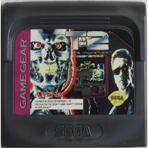 Sega Game Gear Cartucho T2 Exterminador Do Futuro 2 O Jogo D