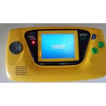 Game Gear Amarelo, Sega, Yellow, G-loc, Som E Imagem Ótimos.