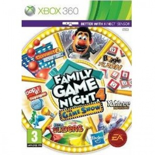 Game Xbox360 Hasbro Family Game Night 4: The Game Show