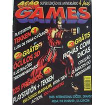 Revista Ação Games Nº 83 - Tekken Golpes 4° Aniversário