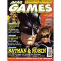 Revista Ação Games Nº132 - Ano 1998 - Capa Batman & Robin