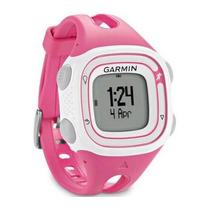 Relógio De Corrida Garmin Forerunner 10 / Gps / Rosa E Branc