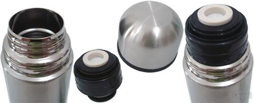 Garrafa Térmica Aço Inox Inquebrável Quente Ou Frio - 350ml