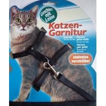 Coleira De Passeio Para Gato