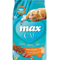 Max Cat Sabores Do Mar Total Alimentos - 1 Kg