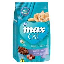 Ração Max Cat Gatinhos Filhotes Cordeiro & Frango 1 Kg
