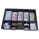 Gaveta De Dinheiro Niqueleira / Porta Cédulas E Moedas 12