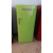 Geladeira General Eletric Verde Limão Restaurada Nova!!!