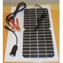 Kit De Placa Solar 12v 5watts + Conector Usb + Dois Ganchos