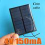 Célula Painel Placa Energia Solar Fotovoltaica 4v 100mah
