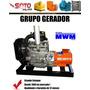Grupo Gerador De Energia 40 Kva Motor Mwm 229/3