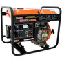 Gerador Diesel 3600w P. Elétrica 7hp Bivolt Vulcan + Bateria
