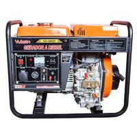 Gerador Diesel 3600w 3,6kva Bivolt 7hp Avr 4t 269cc Vulcan